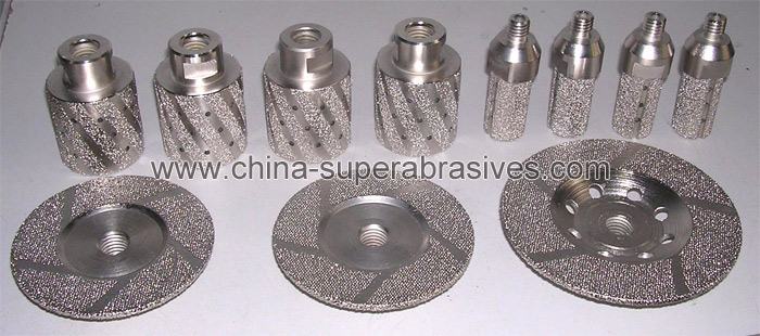Vacuum Brazed Diamond Tools